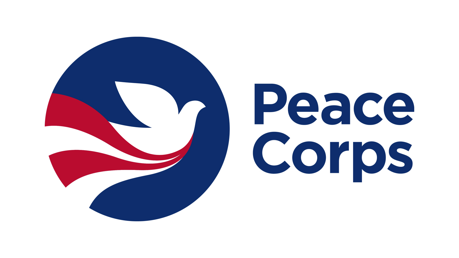 The Peace Corps logo.