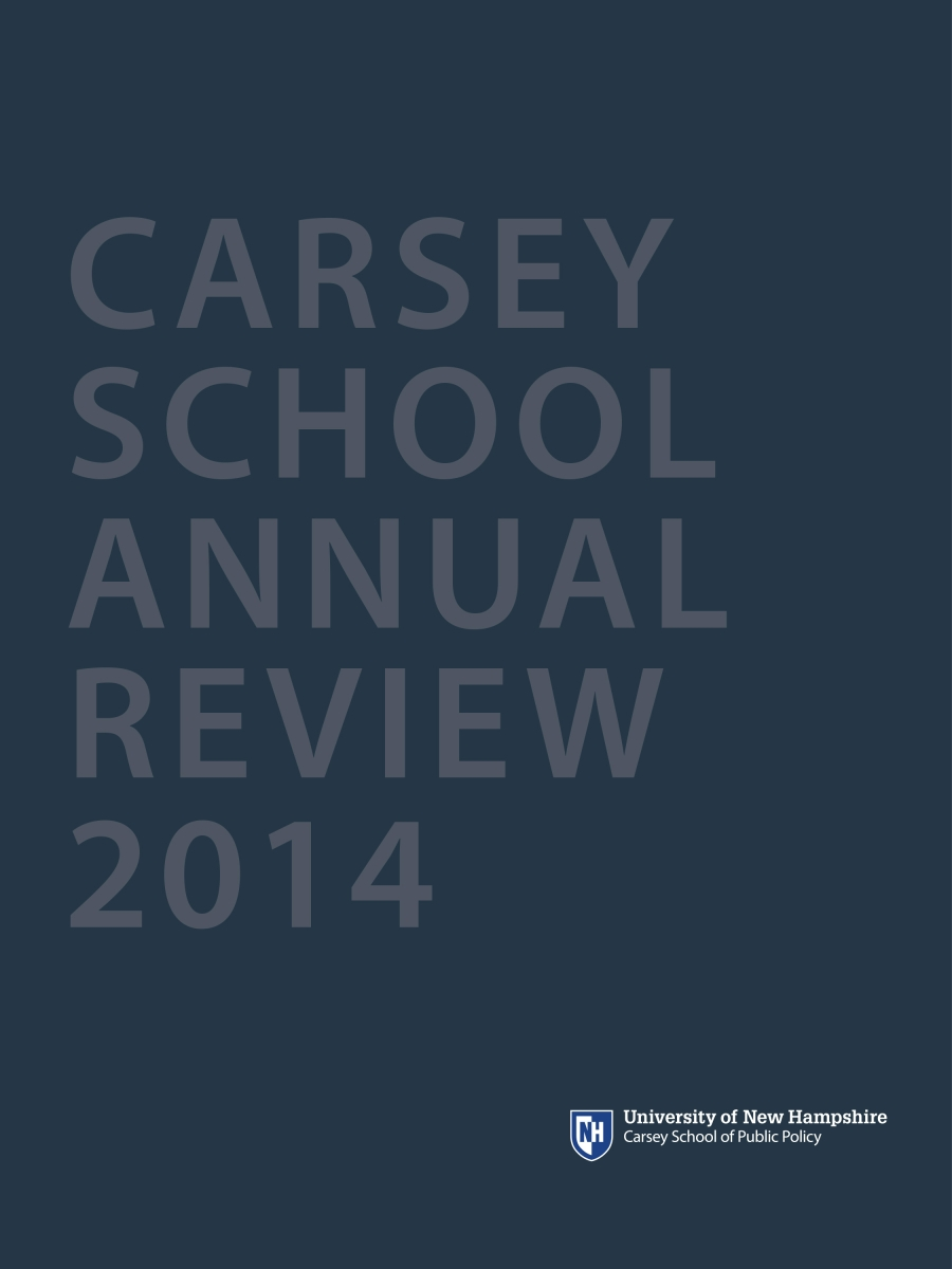 Image of the cover of the 2014 annual review