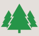 Icon of green trees