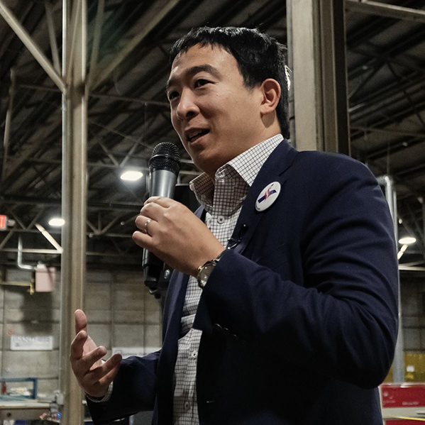 Candidate Andrew Yang will speak at the Carsey School of Public Policy.