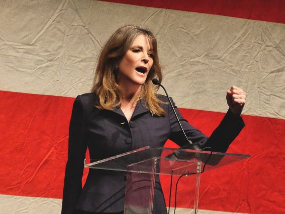 Presidential candidate Marianne Williamson will speak at the Carsey School of Public Policy.
