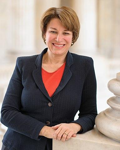 Photo of Senator Amy Klobuchar.