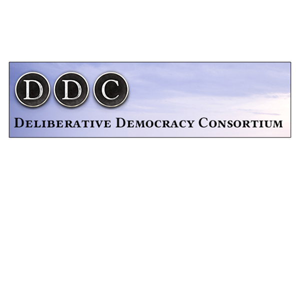 Logo for the Deliberative Democracy Consortium