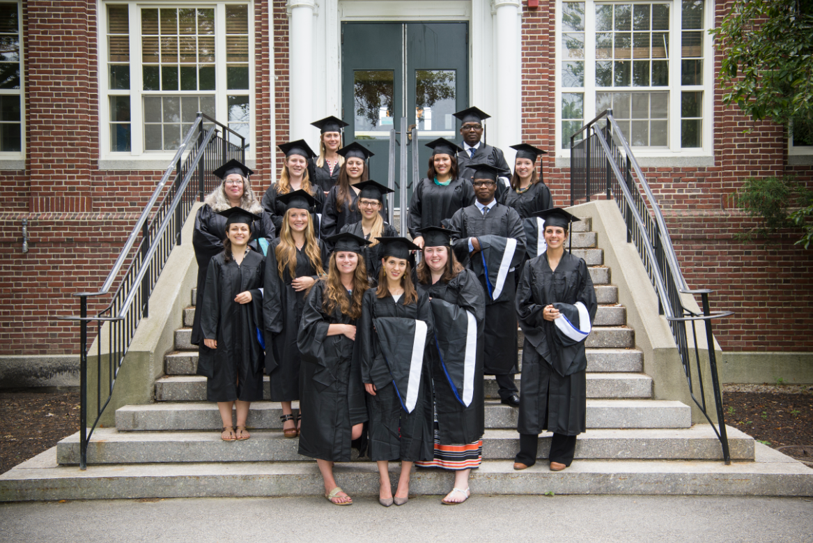 Image of graduates, huddleston hall, carsey school, community development policy and practice