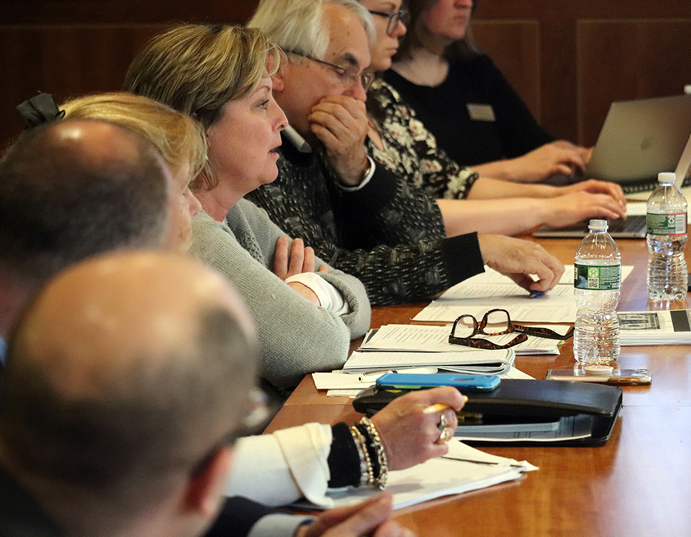 Photo of a meeting of stakeholders involved in the School Funding Study.