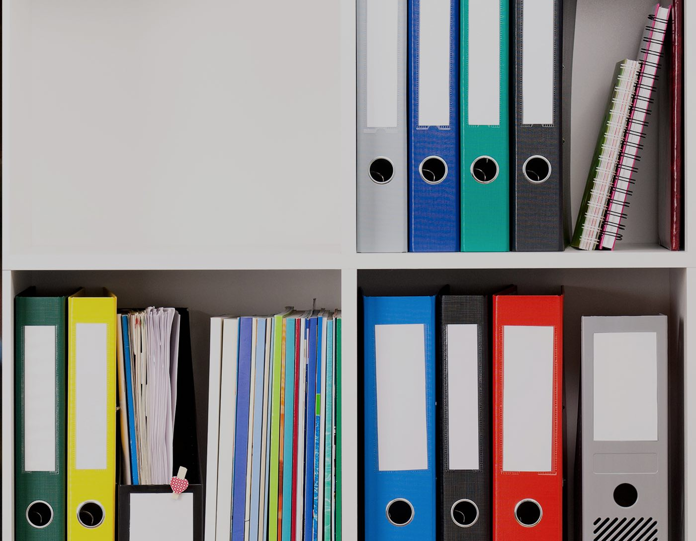 Photo of resources used for a school funding study.