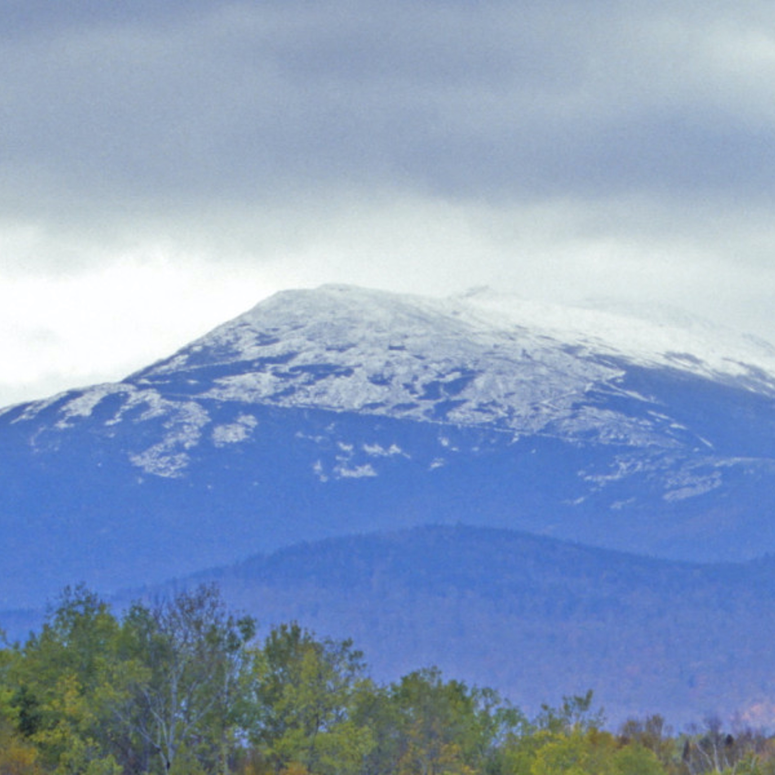 Photo of a mountain in the New Hampshire White Mountains