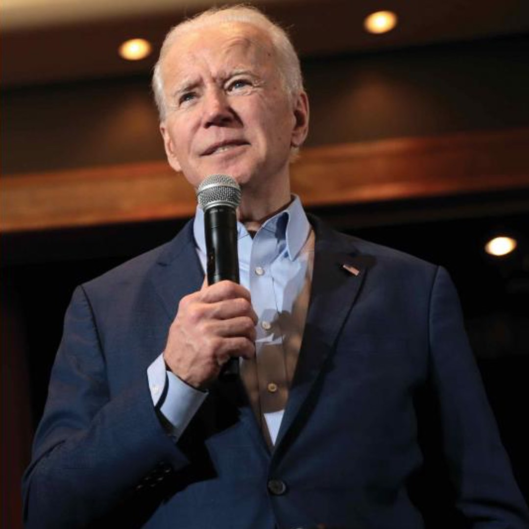 A photograph of Joseph Biden, president of the united states