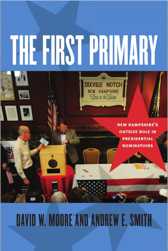 "Book cover to ""The First Primary: Why New Hampshire?"""