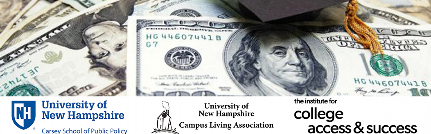 Event graphic for the college affordability panel