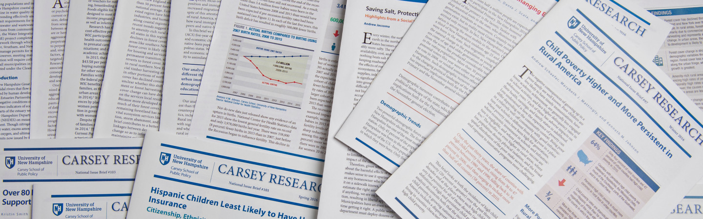 Image of Carsey Publications