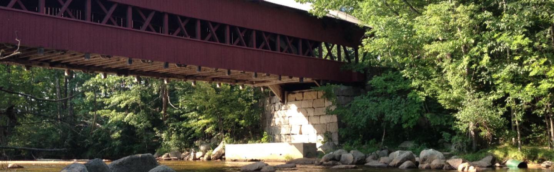 Image of covered bridge