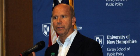 John Delaney at the Carsey School of Public Policy.