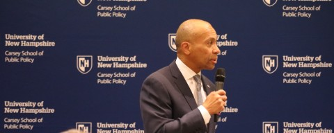 Deval Patrick Speaking at the Carsey School