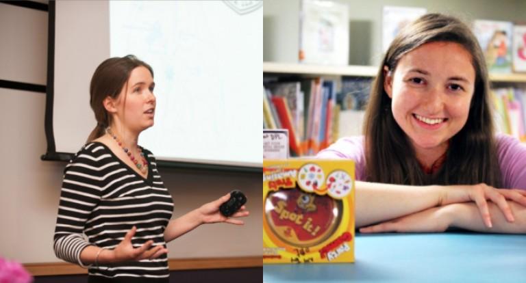 Photos of Hannah MacBride and Marisa Rafal.