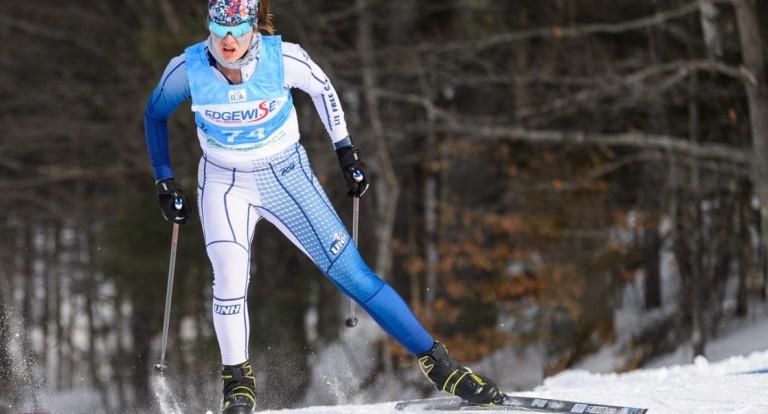 Sarah Nadeau Nordic skiing.