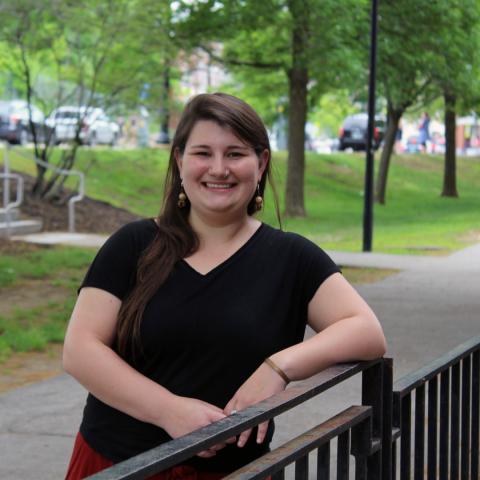 Charlene Higgins, Master in Community Development graduate