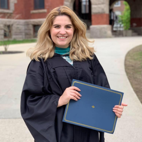 Megan Brabec, Master in Public Administration graduate