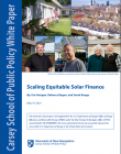 cover of scaling equitable finance white paper