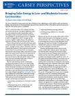 cover of solar brief