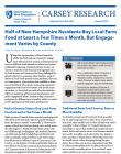 cover of NH food engagement brief