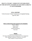 Image of the front page of the report