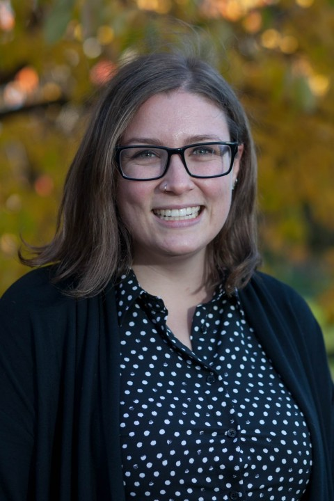 Photo of Sarah Boege, policy analyst with the Carsey School of Public Policy.