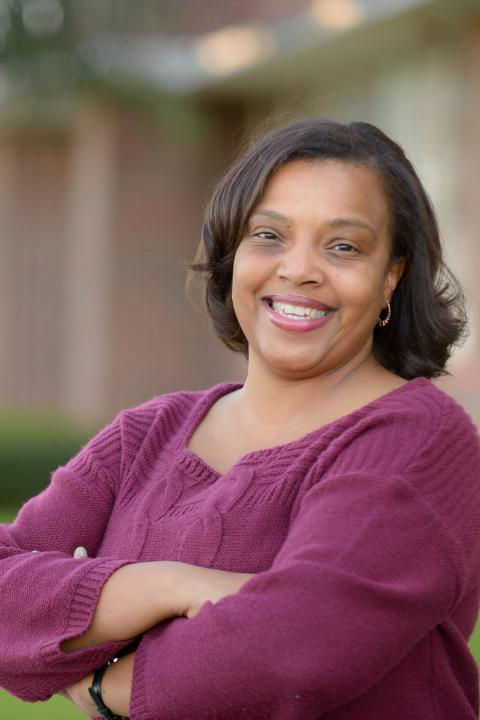 Headshot of Andreanecia Morris, Master in Community Development faculty member at the Carsey School