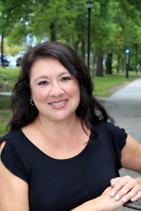 A photo of Cynthia Griego, administrative assistant at the Carsey School of Public Policy