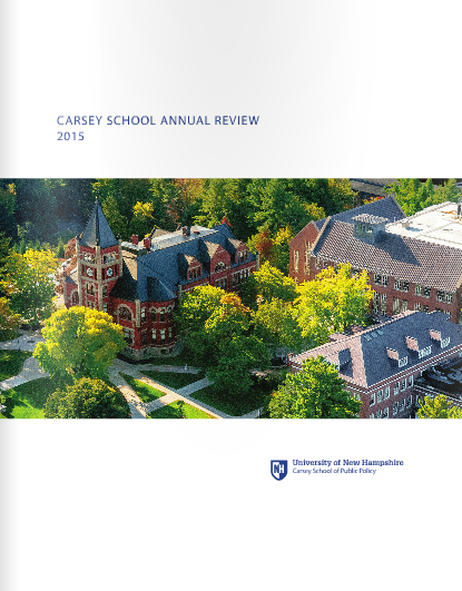 Image of the cover of the 2015 annual review