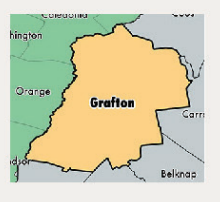 Icon of Grafton County Map.