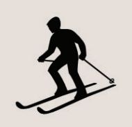 Icon of a skier