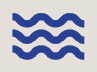 Icon of a wave