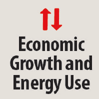 Icon of economic growth and energy use