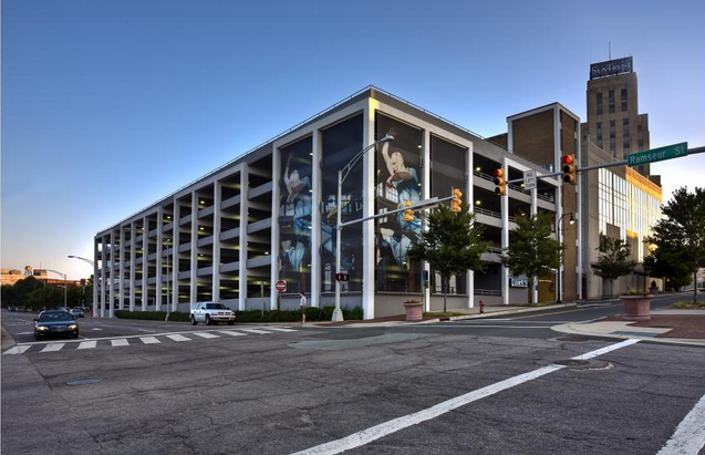 Image of parking garage