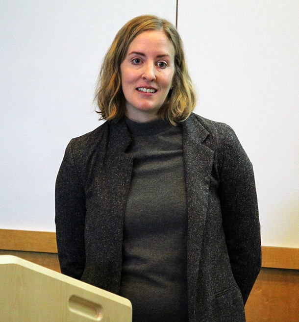 Kirsten Howard of the NH Department of Environmental Science
