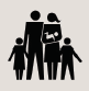 key finding icon of family
