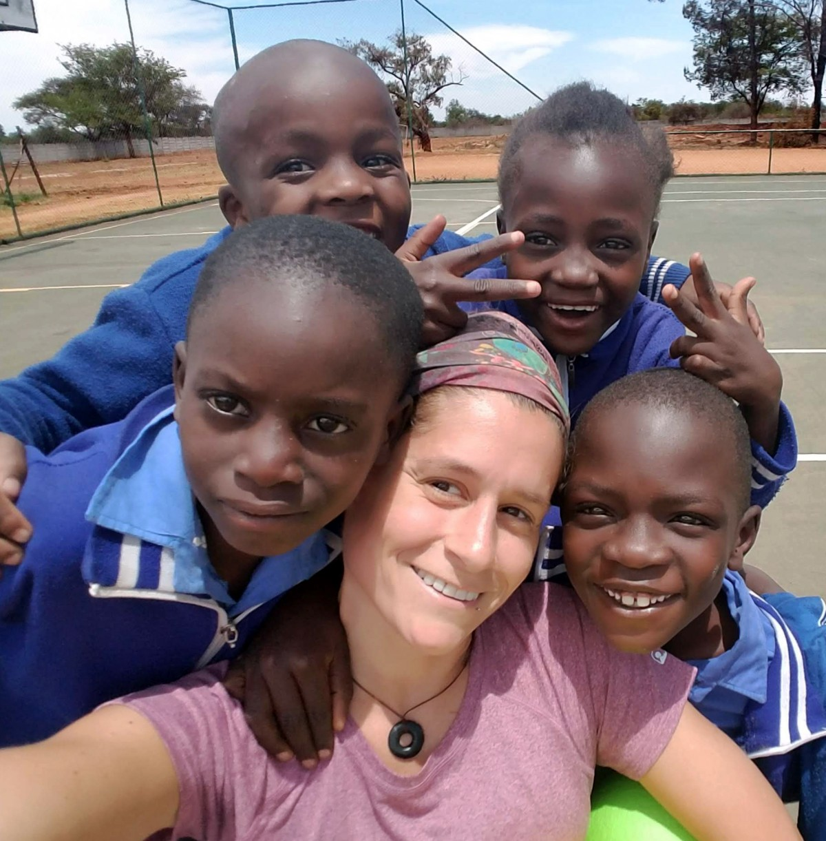 A photo taken during Jessica's capstone project in Zimbabwe.