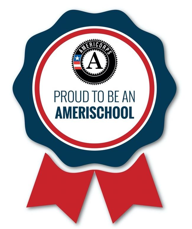 Proud to be an AmeriSchool badge logo